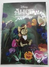 "Disney × ""10×10"" Collaboration Alice in Wonderland Pin DINAH Cat Free shipping"
