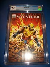 Return of Wolverine #1 1st Appearance Variant CGC 9.8 Gorgeous NM/M Gem Wow