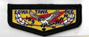 OA Egwa Tawa Dee Lodge 129  S16 Flap BLK Bdr. GA [MX-6372]
