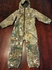 Game Winner Youth Kid's Hooded Realtree Camo Coveralls Size 4T