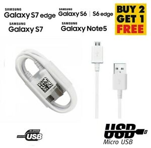 SAMSUNG GALAXY S7 / S6 EDGE FAST QUICK CHARGER & MICRO USB CABLE