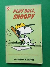 PLAY BALL SNOOPY BY CHARLES M. SCHULZ, LONDON 1981