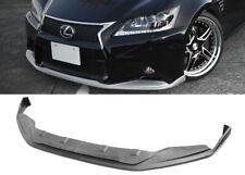 Fit 13-15 Lexus GS350 F-Sport VIP Front Bumper Lip PU Spoiler Diffuser Body Kit