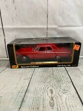 Maisto 1963 Dodge 330 Red (Die-cast - 1:18 Scale)