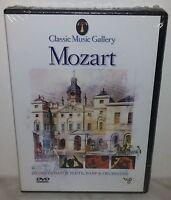 DVD MOZART - CONCERTO FOR FLUTE, HARP & ORCHESTA - NUOVO NEW