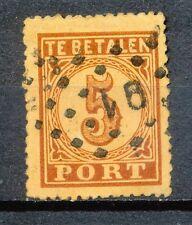 Nederland Port   1 AB met puntstempel 91 (Rotterdam)