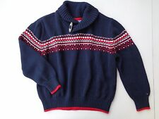 TOMMY HILFIGER Sweater Girls Boys Size 6 Knitted knit Jacket Outwear EXCELLENT