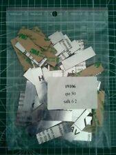 GRAVOGRAPHE - Plaques à Graver Sachet de 50 pcs - ARGENT - 5,00 cm X 1,50 cm