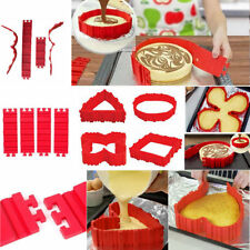 Shape! Silicone Pie Tin DIY Cake Mould Cake Bake Shape Nonstick Pastry Pot Tray