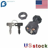 Ignition Key Switch FOR Club Car Gas Golf Carts 1996-Up 102571401 USA