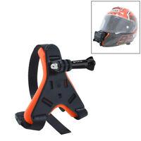 Motorcycle Helmet Chin Strap Mount for GoPro Hero 5 6 7 Black DJI Action Cameras