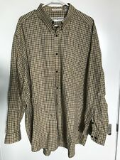 Vintage JHANE BARNES Shirt Geometric Woven in Japan Long Sleeve Cotton Sz XL