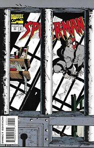 Spider-Man Comic 57 Cover B Die-Cut Variant First Print 1995 Howard Mackie