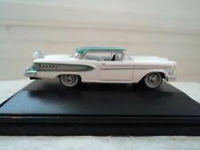 Oxford 1958 Edsel Citation White / Turquoise 1/87 Ho diecast car