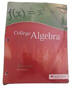 Bill Ambrose College Algebra Third Ed PAPERBACK