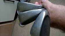 Rare Vintage Magnetic Wide Camber Sole Irons Lot of 3 gc