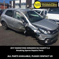 2017 SSANGYONG KORANDO ELX 2157cc 2.2 MK3 D22DTF Breaking spares repairs parts