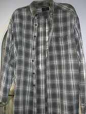 American Eagle Outfitters  XL Men's Plaid Long Sleeved Casual Shirt