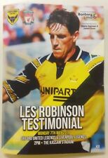 Oxford United v Liverpool - Les Robinson Testimonial : Played 7th May 2018 -Mint