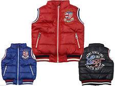 Wasserabweisende Jacken, Mäntel & Schneeanzüge für Jungen-Westen aus Polyester