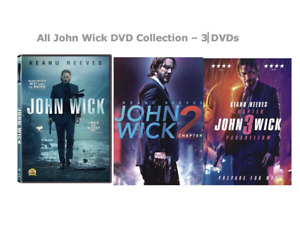 John Wick DVD Collection – 3 DVDs