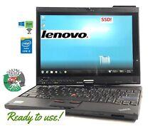 Lenovo ThinkPad X201 Laptop Tablet i5 @ 2.67 8gb 180gb SSD  W10P stylus WARRANTY