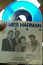 JAMES HARMAN: All Night Boogie / Kill Me 45 (PS, blue wax) Rock & Pop