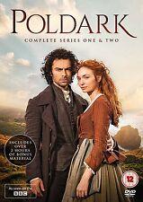 POLDARK Stagioni 1-2 Serie Complete BOX 6 DVD in Inglese NEW .cp