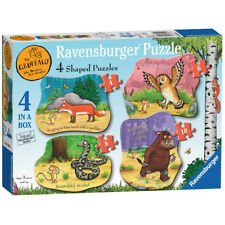Ravensburger The Gruffalo 4 Shaped Jigsaw Puzzles