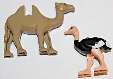 Lego Animal Lot - 7573 Prince of Persia Camel & 7570 Ostrich