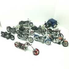 Maisto and other Harley Davidson Motorcycles Lot of 11 Motorcycles (PLEASE READ)