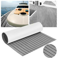 "US 35"" X 94"" Flooring Teak EVA Foam Boat Teak Decking Sheet Marine Faux 6mm"