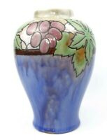 Early 20th C. Art Deco Royal Doulton Lambeth Vase Grape Vine 1920-39