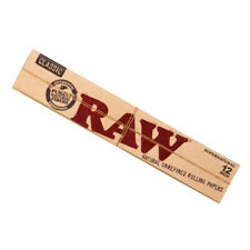 More details for raw 12inch extra long rolling paper super natural 12