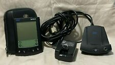 IBM WORKPAD C3 PALM PDA with data charging base w/Power Adaptor BOOTS!
