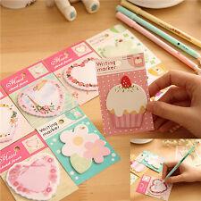 Sticky Notes Cupcake Sticker Bookmark Post Mark Index Tab Notepad Memo Random