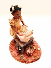 """Enesco Miss Martha's Collection Patsy """"Clean Clothes For Dolly """" 1991 #443239"""