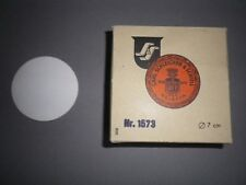 100 Piece Round Filter Ø 2 13/16in Schleicher & Schuell Selecta Paper