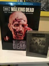 AMC The Walking Dead Blu Ray Rare Limited Edition Season 1 & 2 NIB Zombie Head