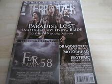 TERRORIZER MUSIC MAGAZINE NO.174 with original 2 cd PARADISE LOST,DRAGONFORCE