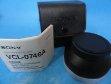 OFFICIAL SONY Wide Conversion Lens VCL-0746A * CLEAN