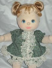 NEW! Quality Made Green & Lace Dress Outfit Set For Mattel My Child Doll By OTM