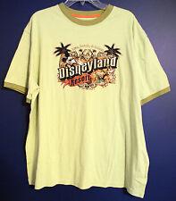 "New Disney Parks DISNEYLAND ""Live Laugh & Relax"" MICKEY T-Shirt Mens XL"