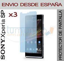 3x protection ECRAN pour SONY XPERIA SP en Espagne M35h C5302