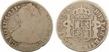 Bolivie, 2 reales, Charles III, 1775 Potosi, argent - 86