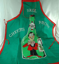 Skol..Prost...Cheers.... Apron from Sweden for the Bar..Kitchen.. Barbeque