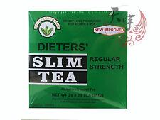 NUTRI LEAF Dieters Herbal Slim Tea-Regular Strength 30 Tea Bags Weight Loss
