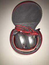 Sony MDR-X10 Headband Headphones Red/Silver