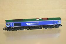 GRAHAM FARISH 371-394 DCC READY BARDON AGGREGATES CLASS 66 LOCOMOTIVE 66623 nq
