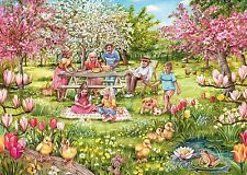 GIBSONS FIVE LITTLE DUCKS 1000 PIECE JIGSAW PUZZLE DEBBIE COOK - NEW G6207